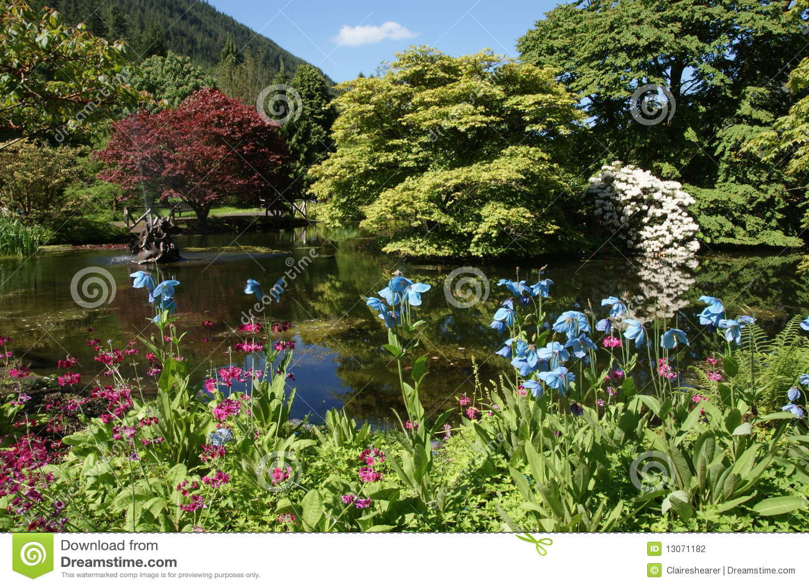 Benmore botanische Gärten