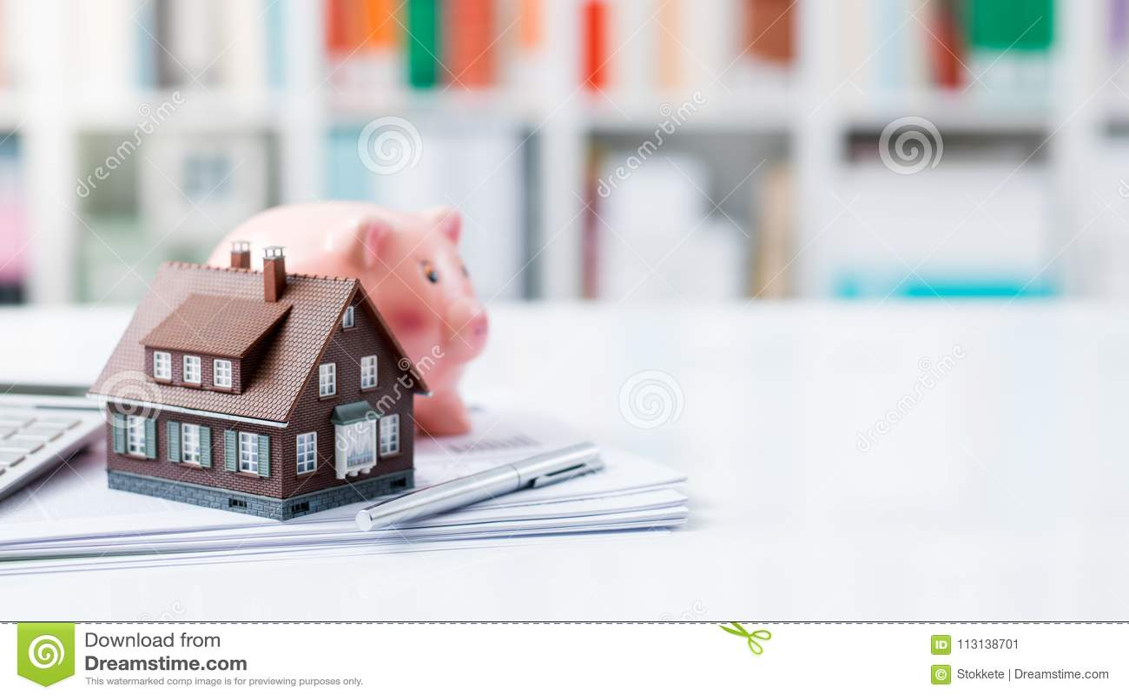 Bens imobiliários, empréstimo hipotecario e hipotecas