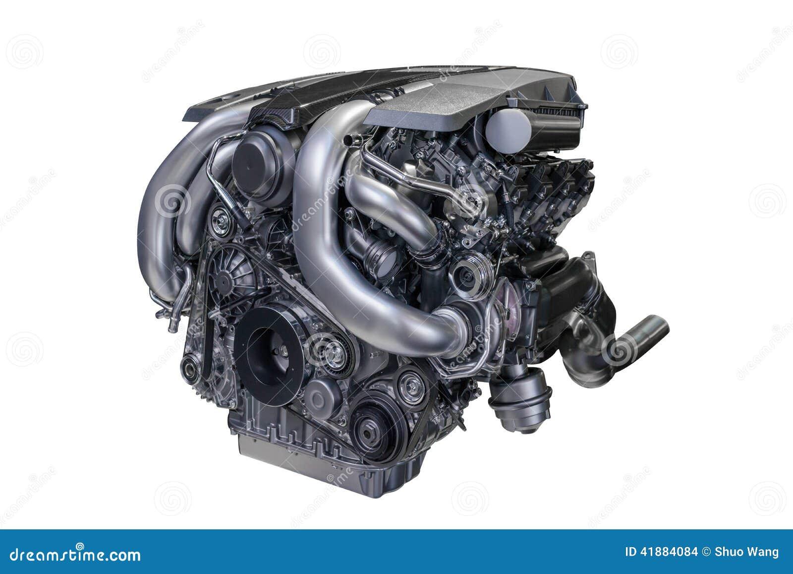 Bensin tankade bilmotorn