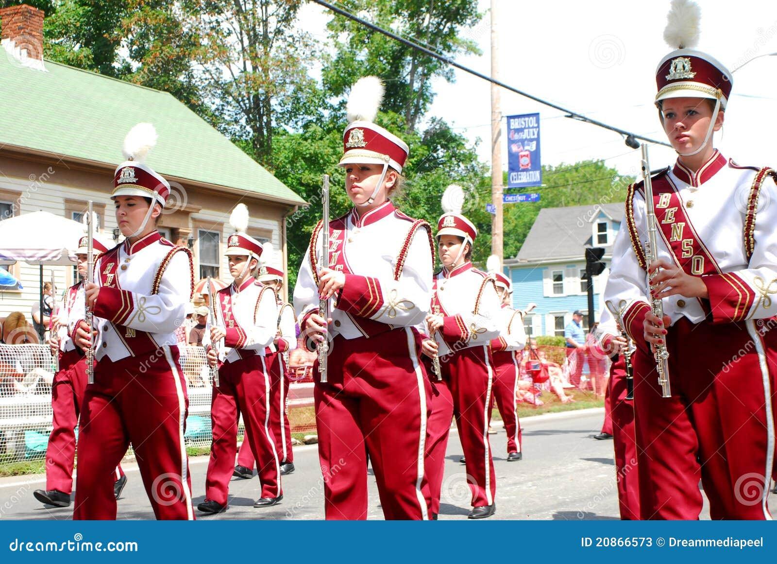 Benson High School Marching Band, Benson, MN