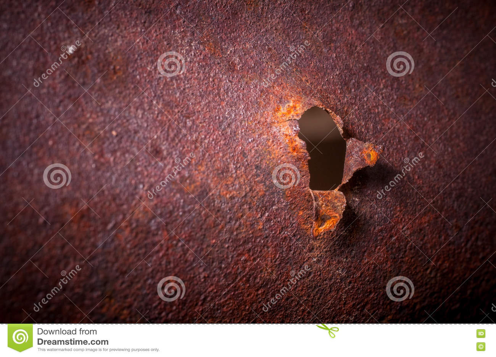 Bent Rusted Metal