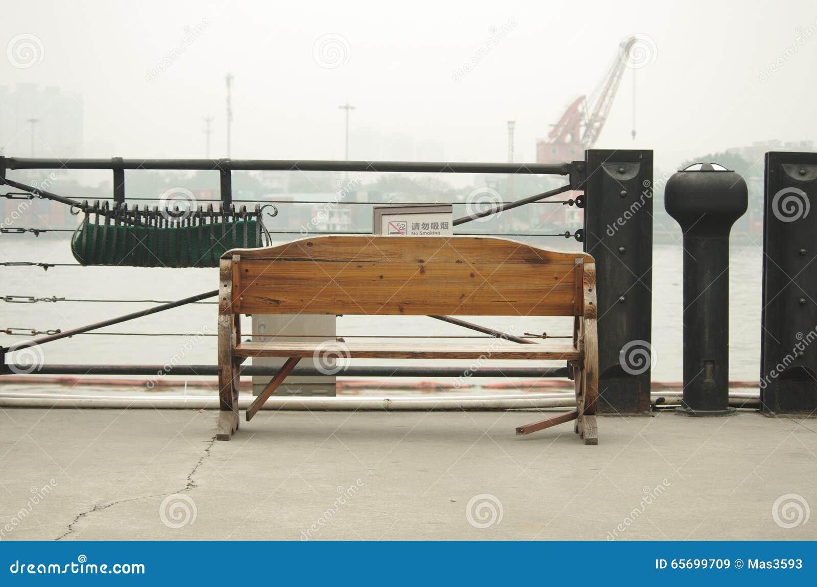 Bentch in Taigu warehouse stock image  Image of twenties