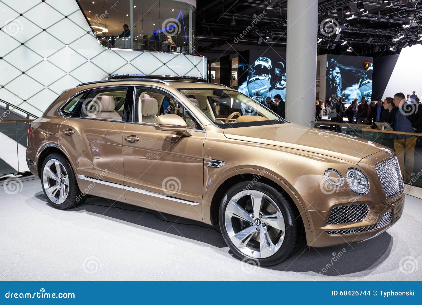 Bentley Bentayga allo IAA 2015