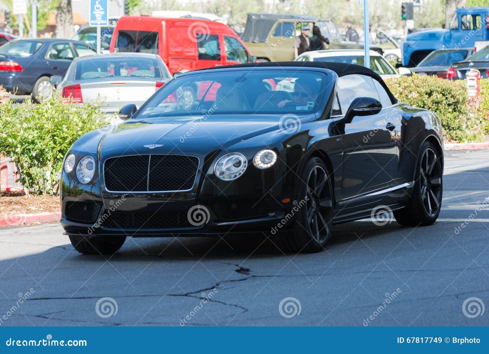 Bentley Continental Gt Convertible Editorial Stock Image