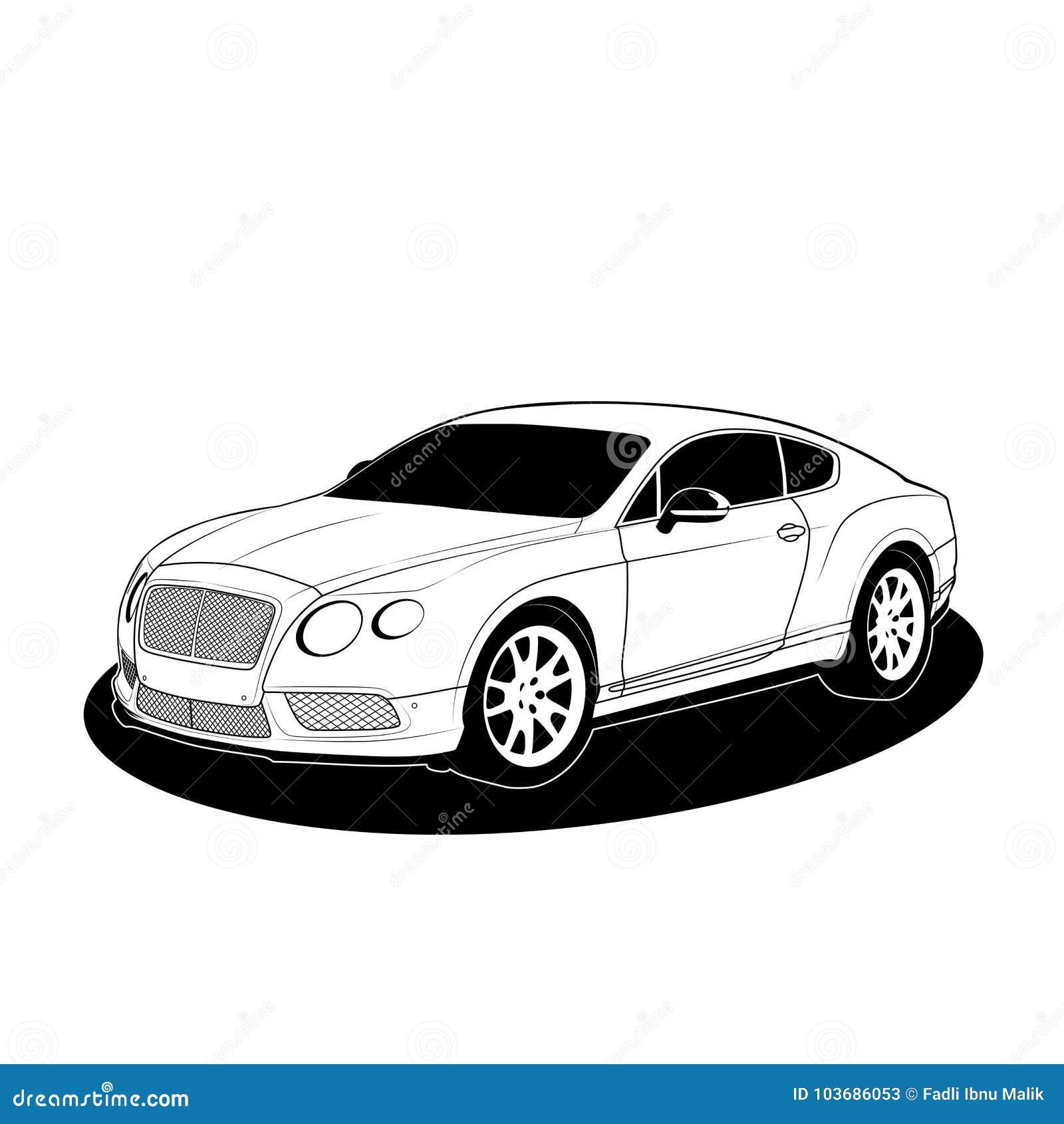 Bentley Cars Stock Illustrations 5 Bentley Cars Stock