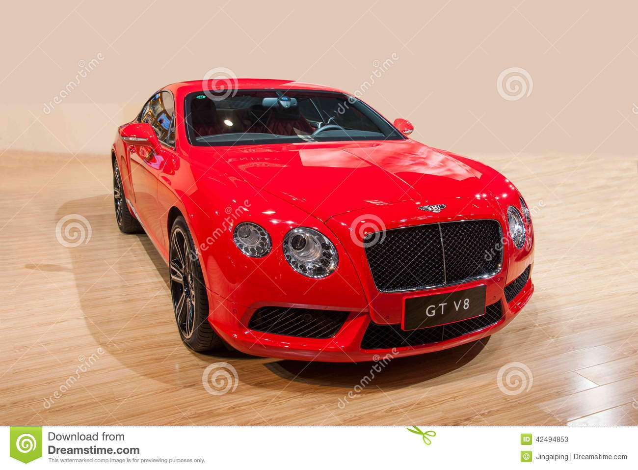 Bentley Series Car Chongqing Auto Show Editorial Stock