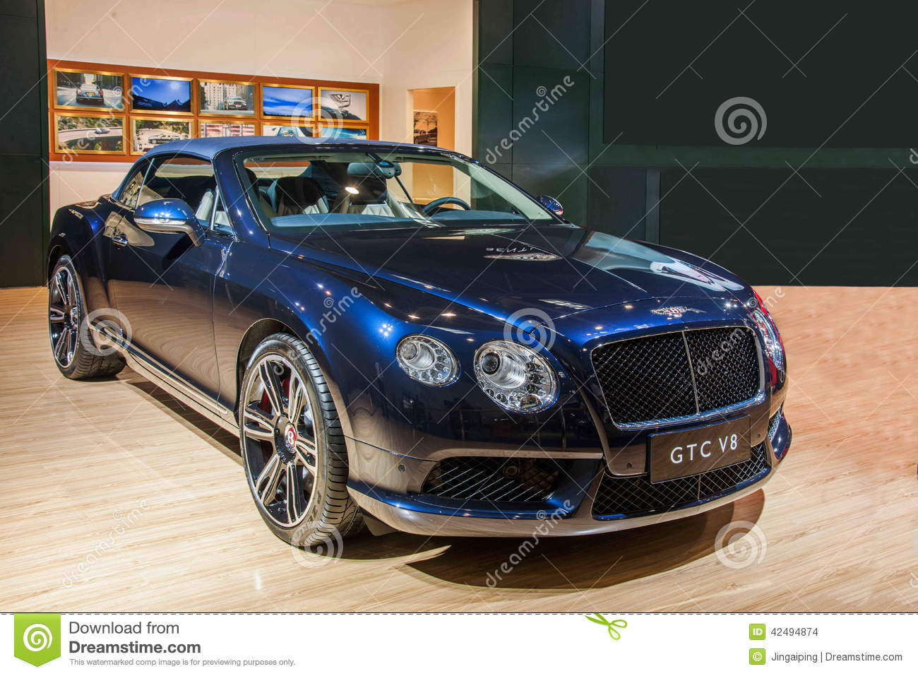 Bentley series car chongqing auto show editorial stock for Bentley motors limited dream cars