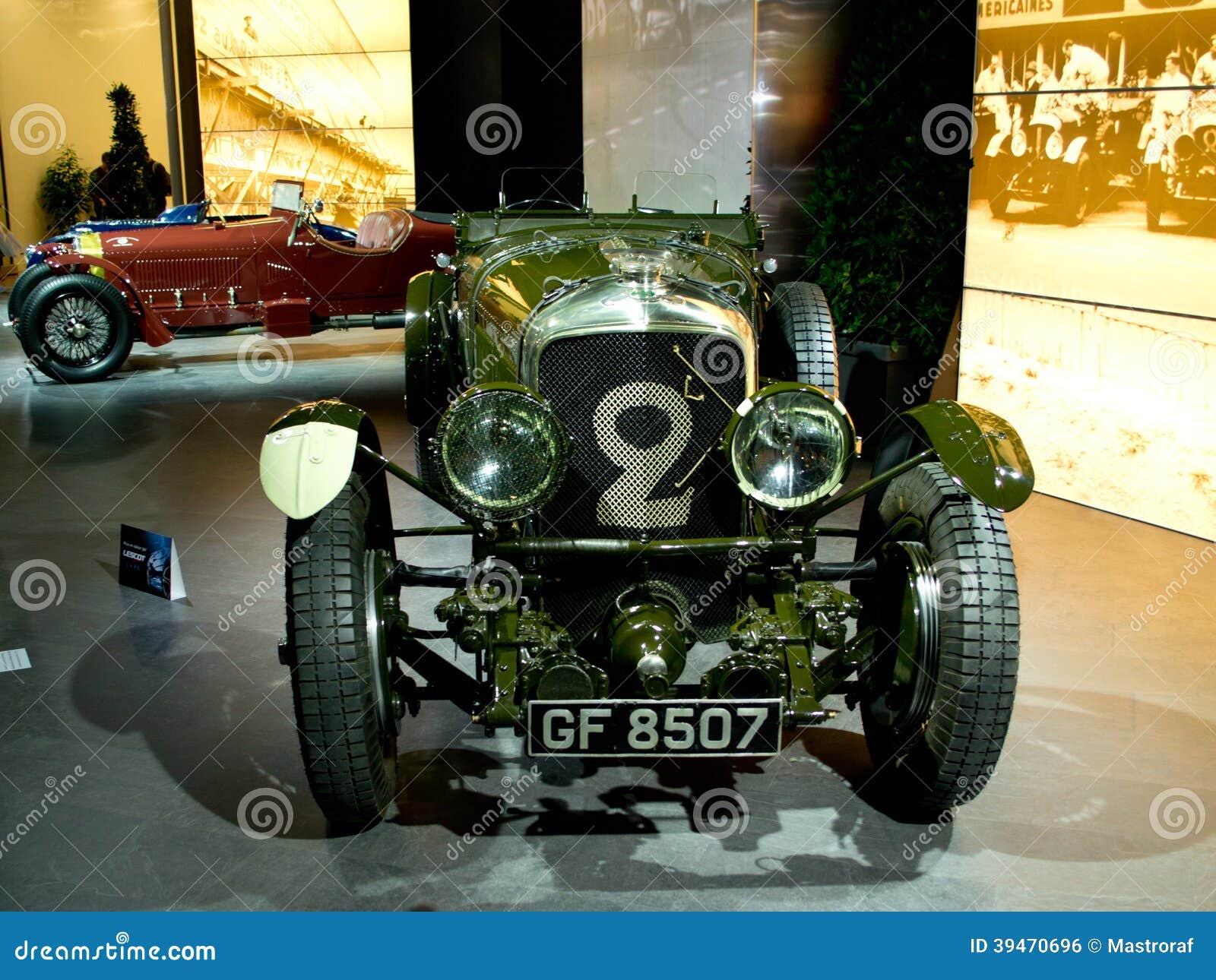 Bentley speed six geneva 2014 editorial photo image - Salon de the le mans ...