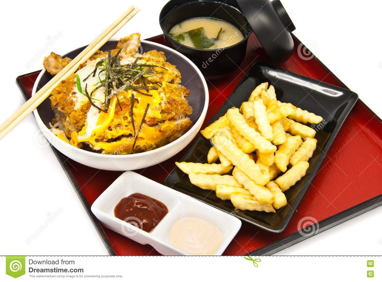 Bento, Japanese Food Style Royalty Free Stock Photography - Image ...
