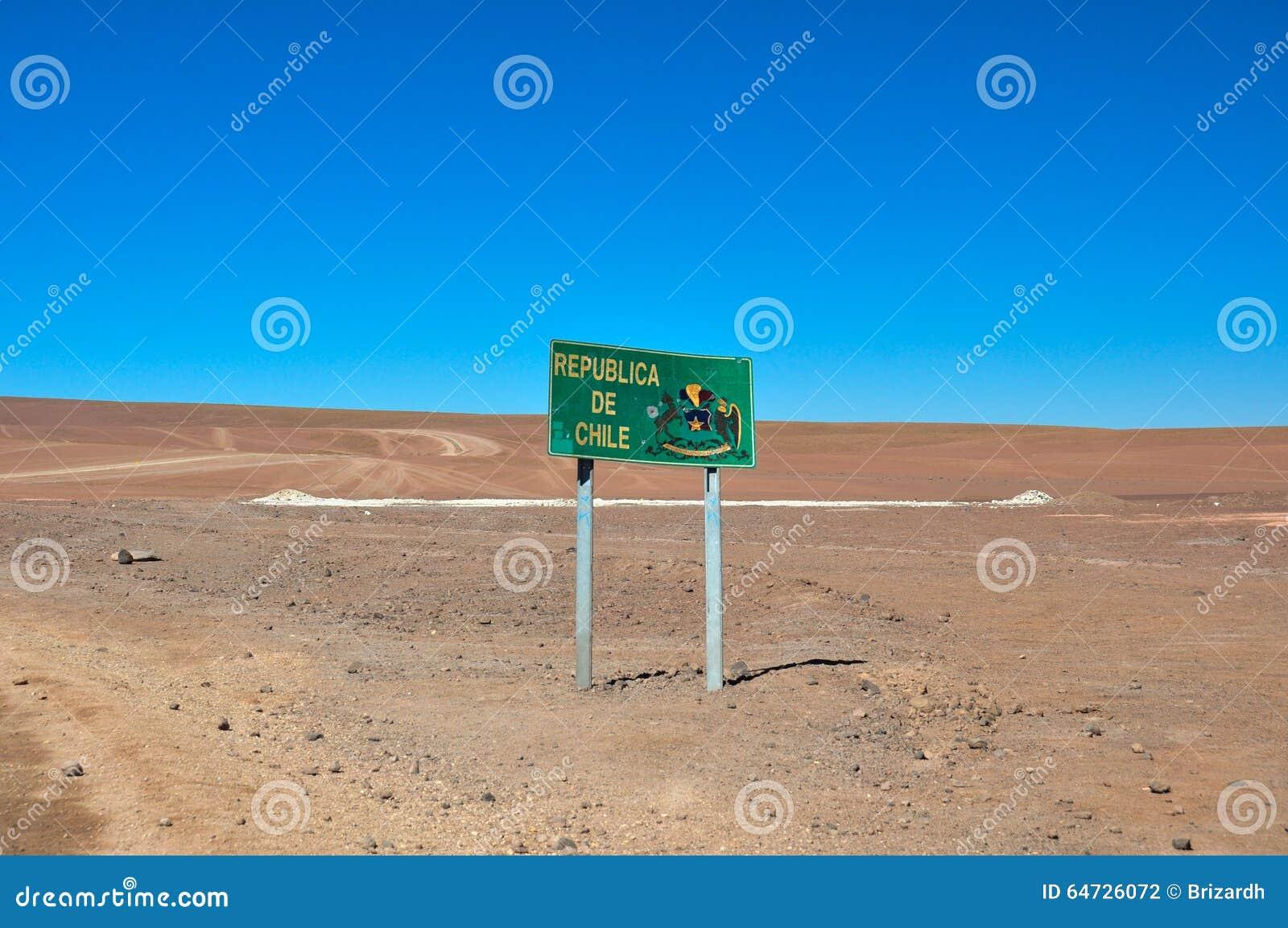 Benvenuto in Repubblica del Cile!