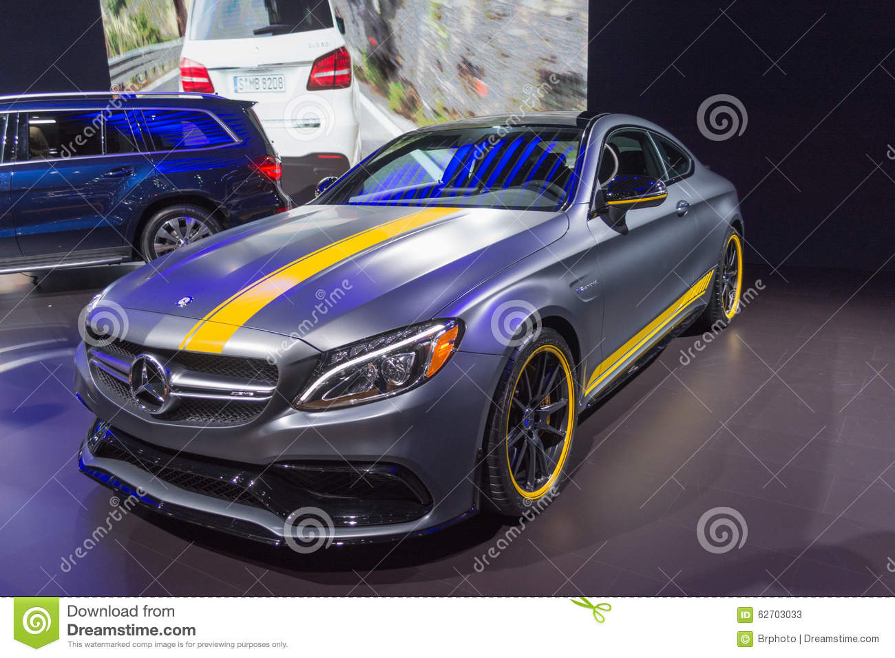 Benz C63 AMG Coupe της Mercedes