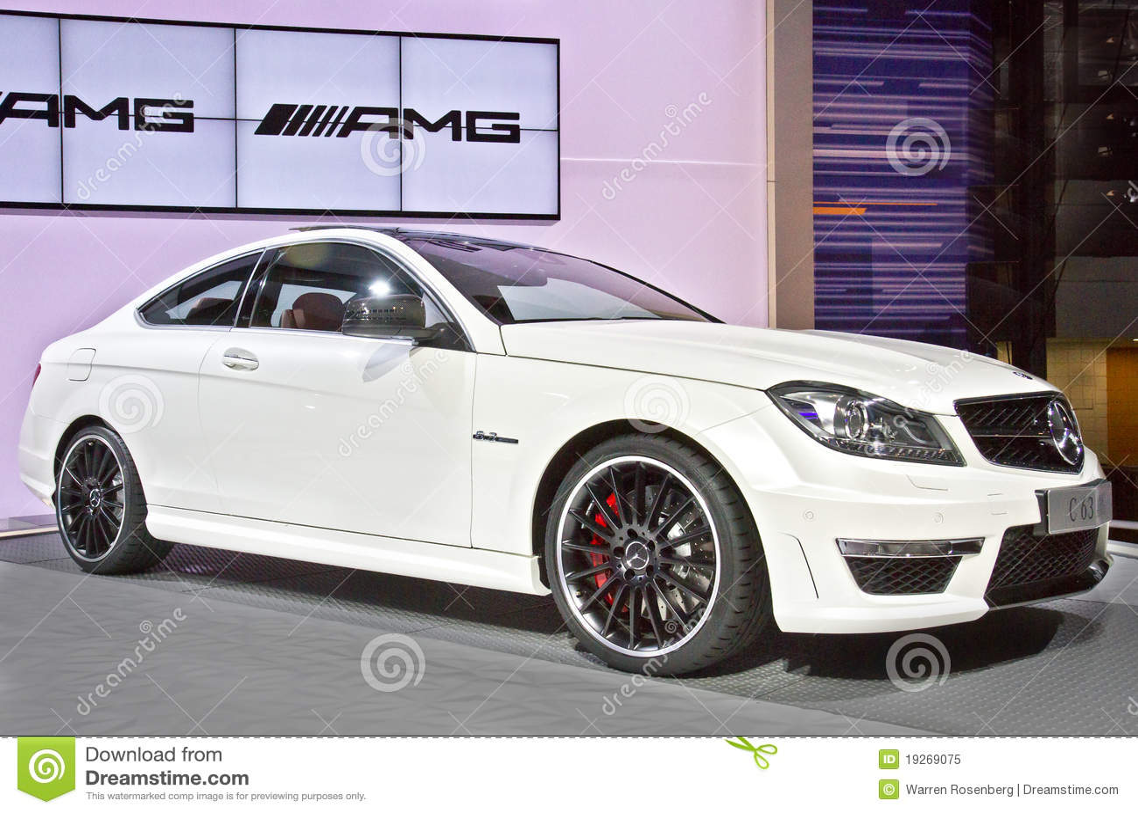 Benz C63 AMG de Mercedes