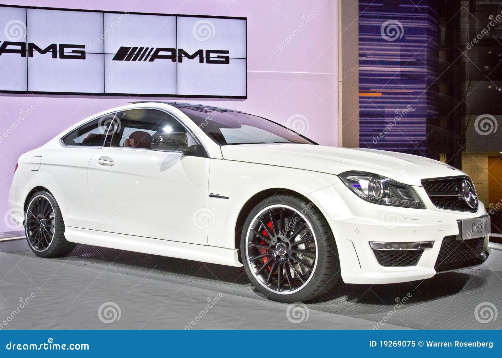 Benz C63 AMG di Mercedes