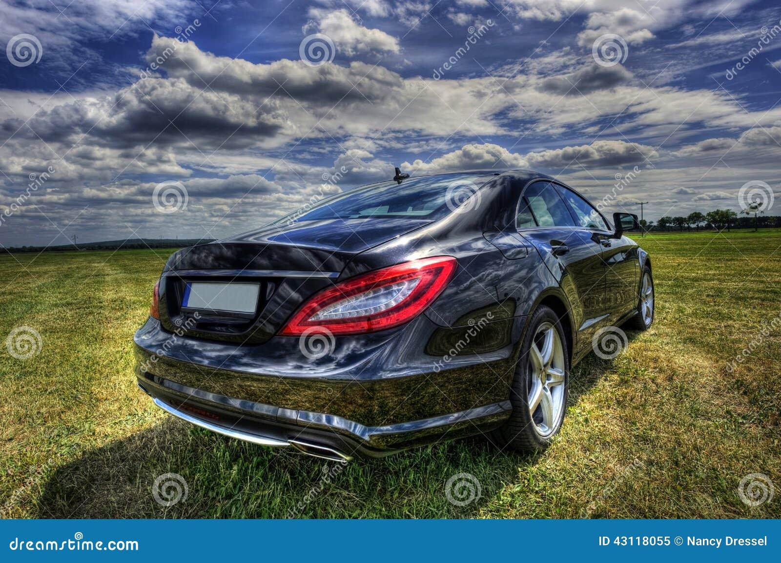 Benz CLS van Mercedes