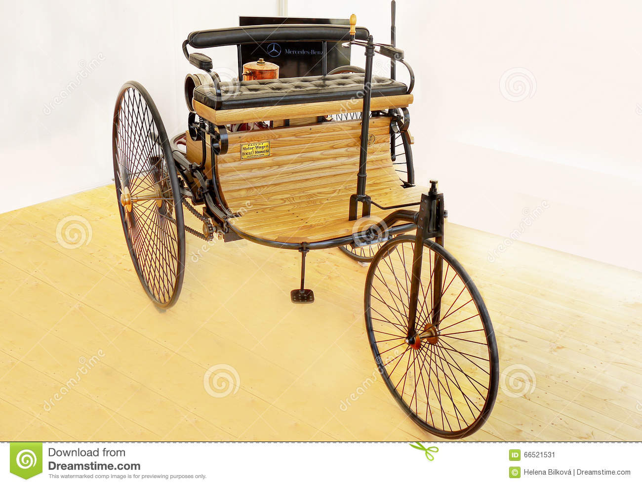 Benz Patent Motor Car, Antique Cars Editorial Photo - Image of ...