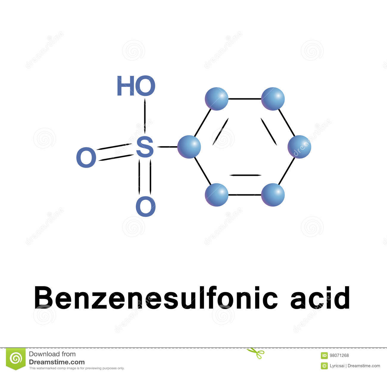 Benzenesulfonic-Säure
