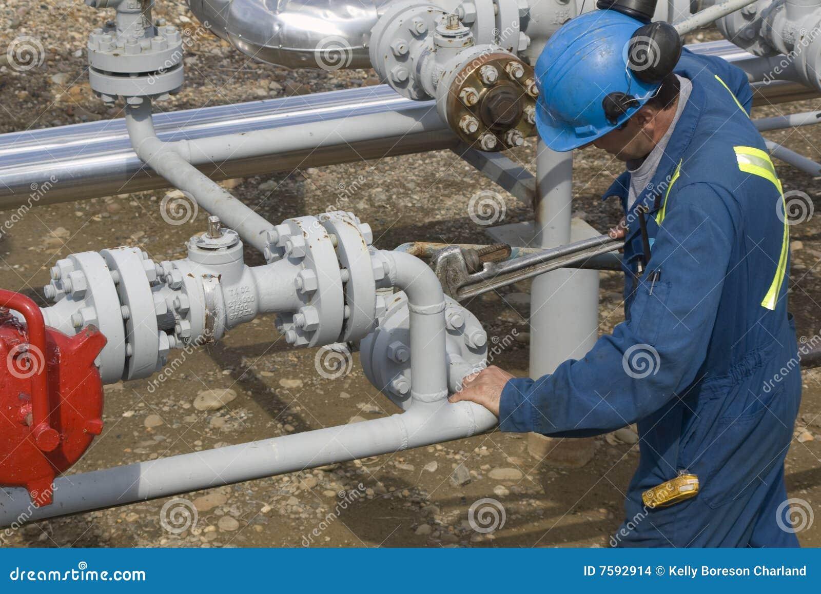Benzynowego operatora produkcja