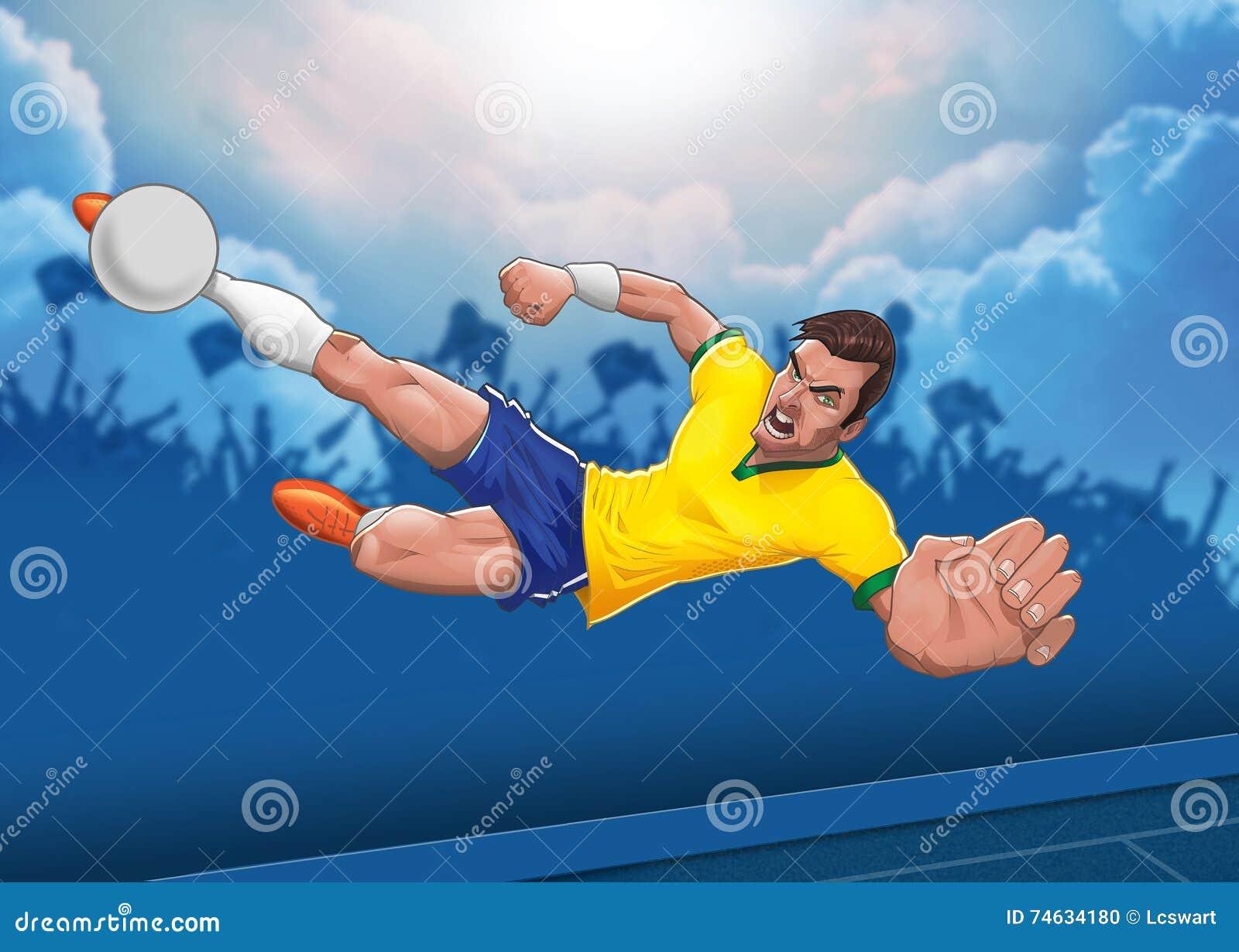 Bepaalde voetbalster