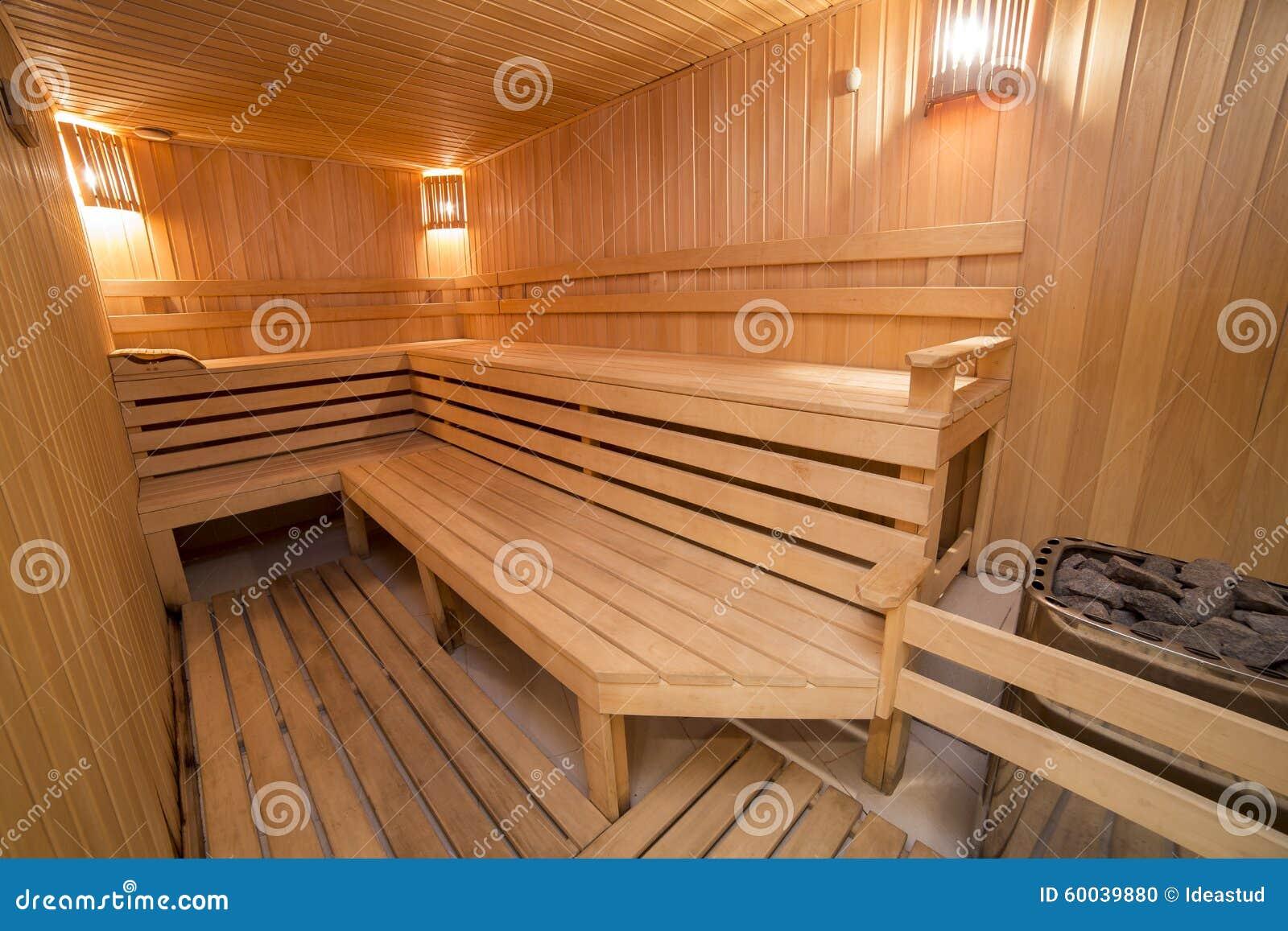 Elegant Sauna Für Zuhause Foto Von Pattern Bequemer Hölzerner Rauminnenbadekurort Der Stockfoto -