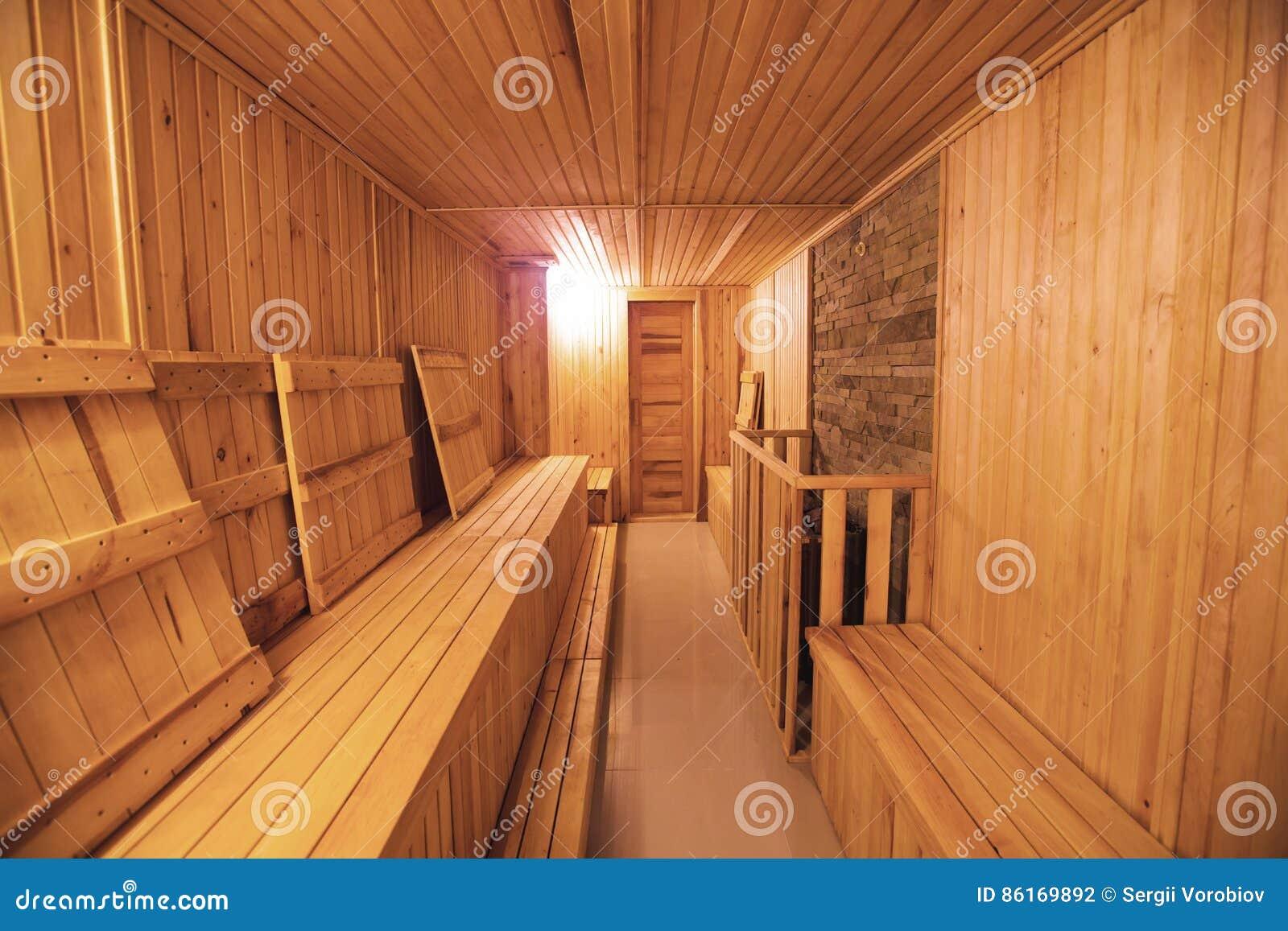 Großartig Sauna Für Zuhause Galerie Von Bequemer Hölzerner Rauminnenbadekurort Der