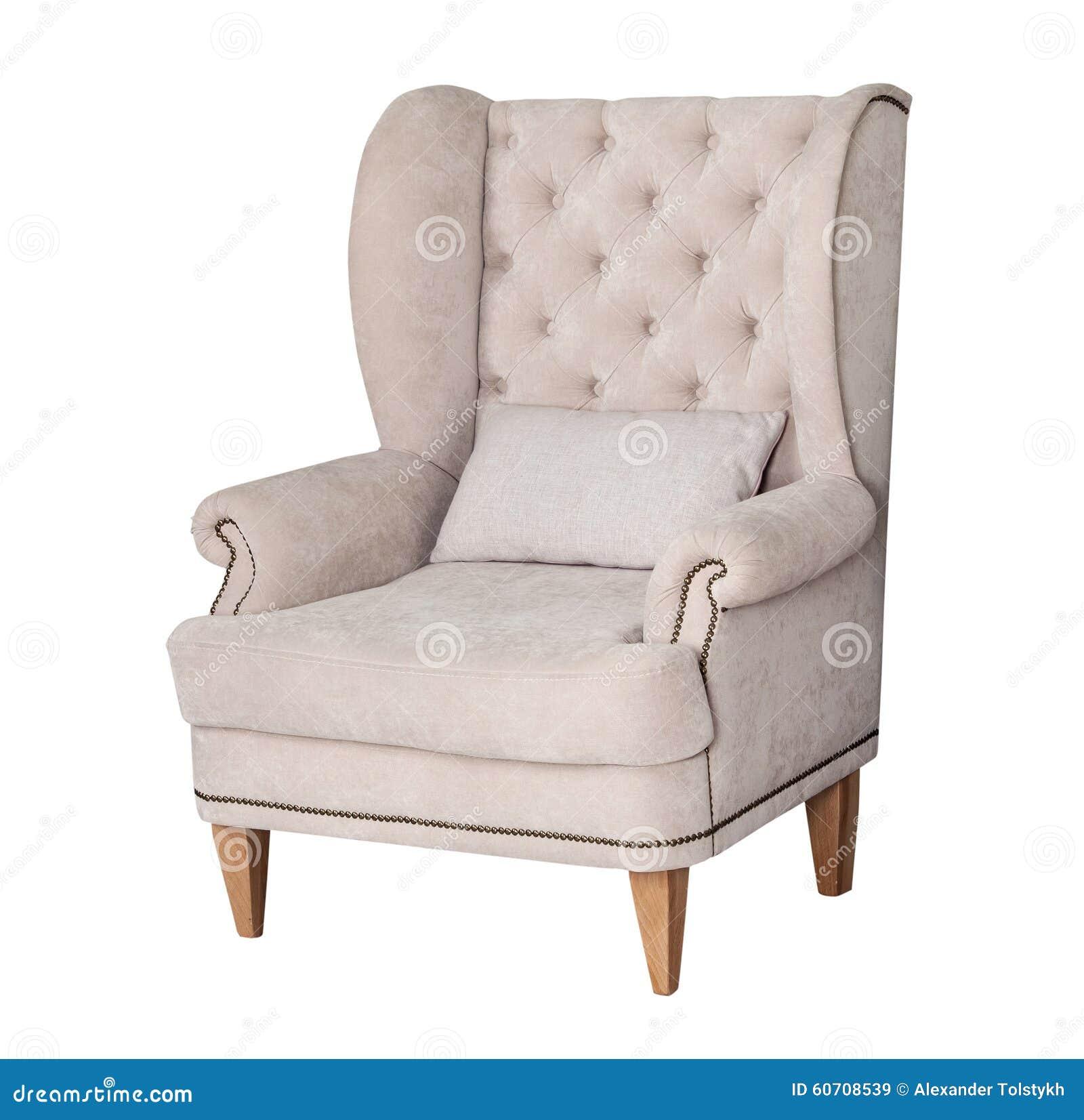 grauer bequemer stuhl m belideen. Black Bedroom Furniture Sets. Home Design Ideas
