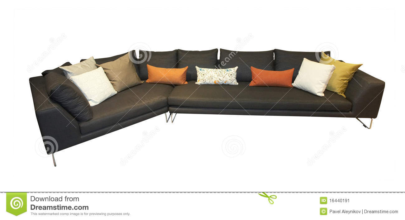 bequemes sofa stockbild bild 16440191. Black Bedroom Furniture Sets. Home Design Ideas