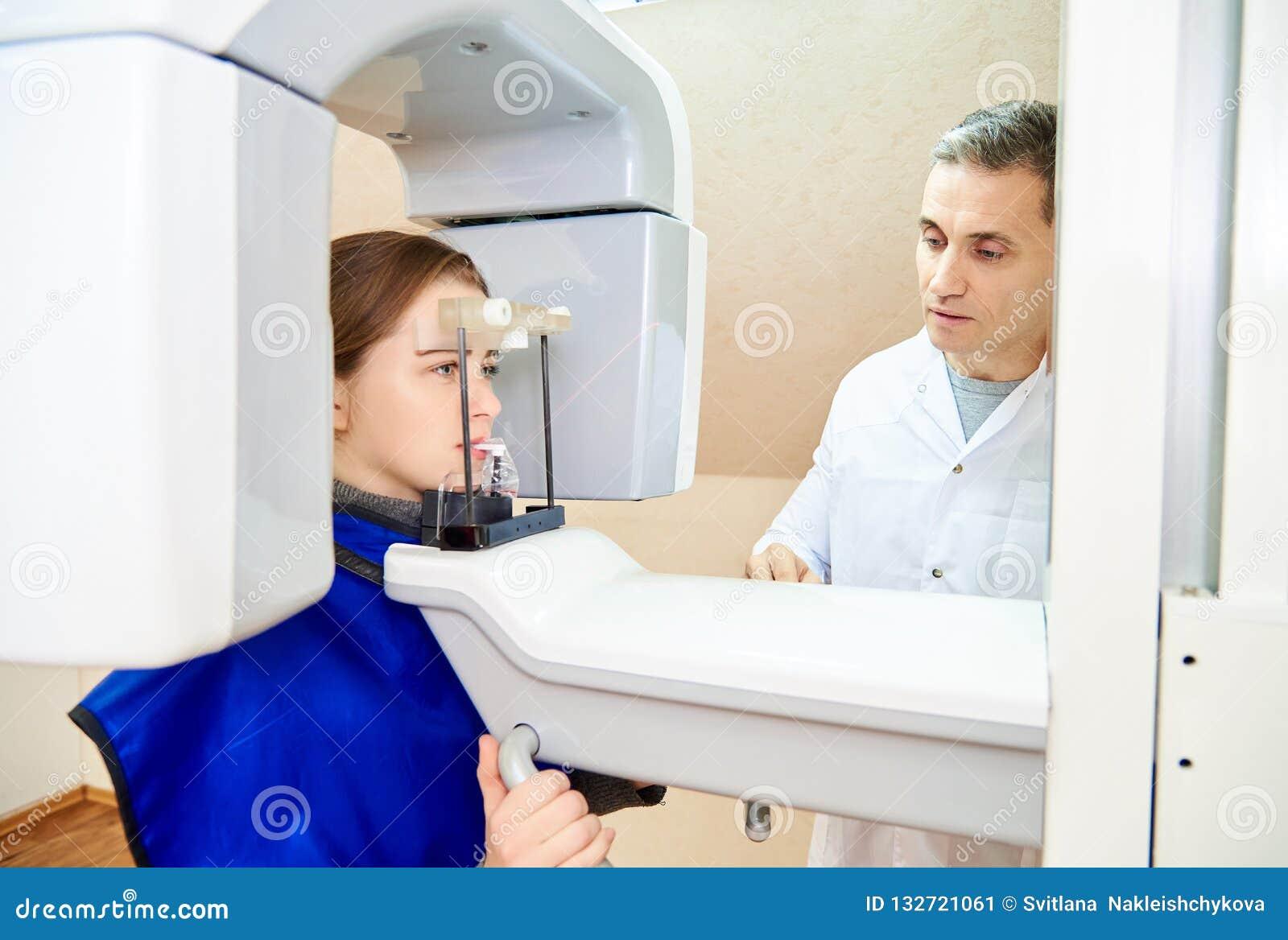 Beräknad tomography av tänder