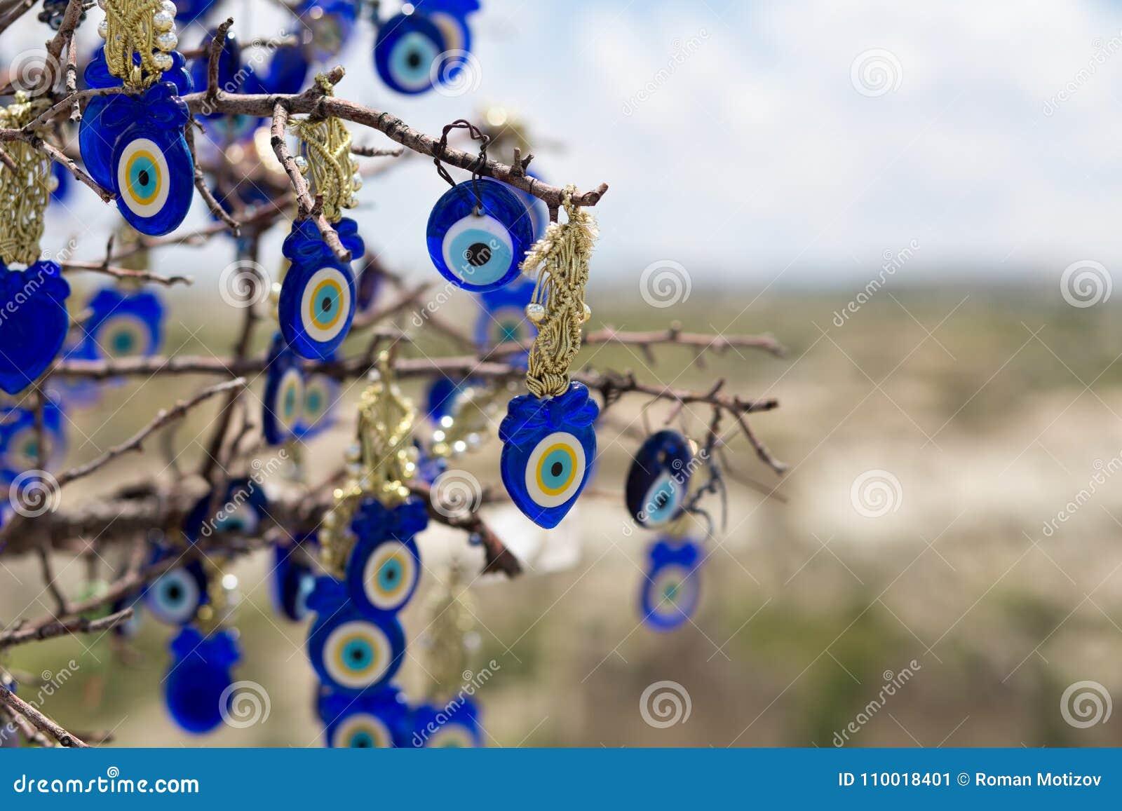 Berömd för trädlandskap för ont öga sikt i Cappadocia, Goreme, Turkiet
