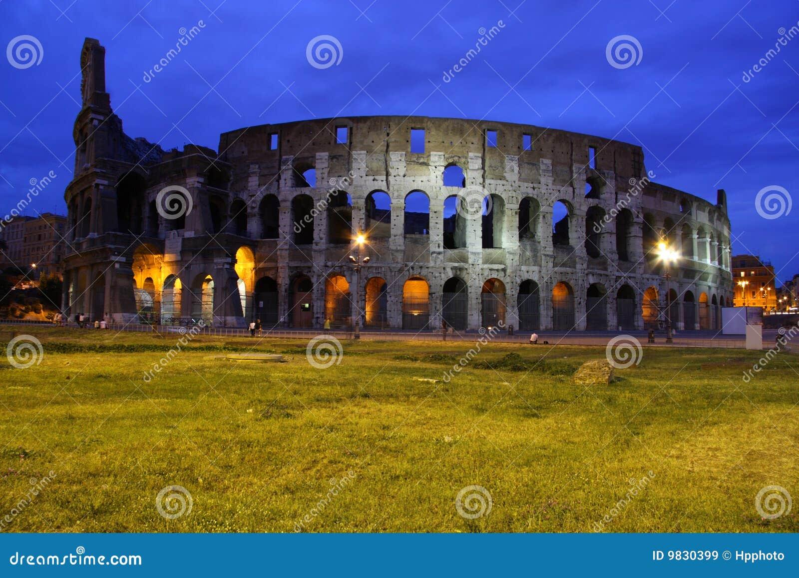 Berömd landmark för forntida colosseum mest rome