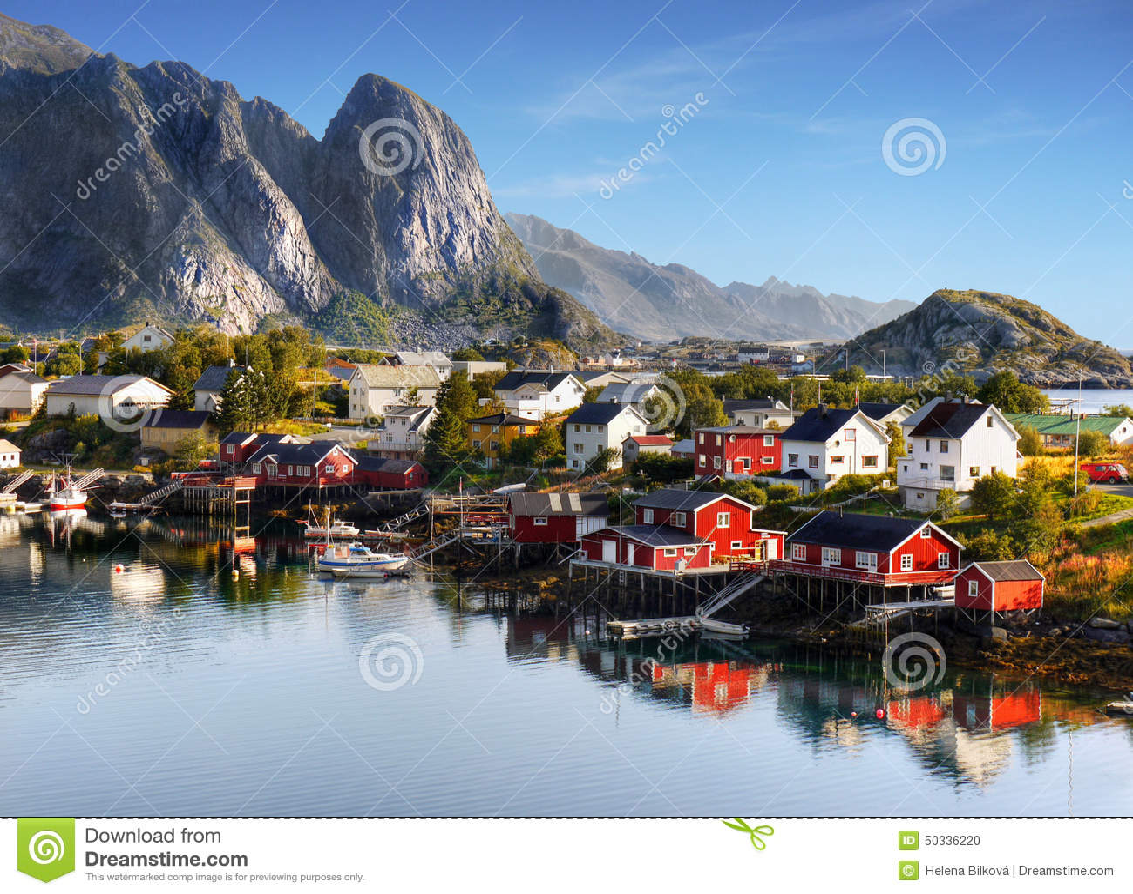 Berömda Lofoten, Norge landskap, Nordland