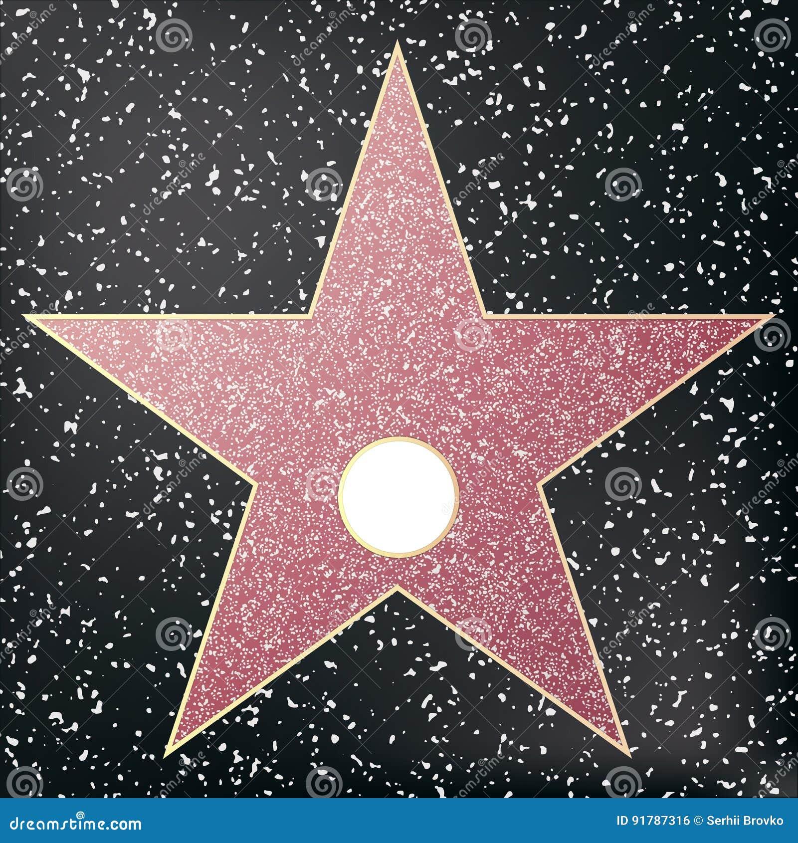 Berömmelsestjärnan går Stjärna hollywood