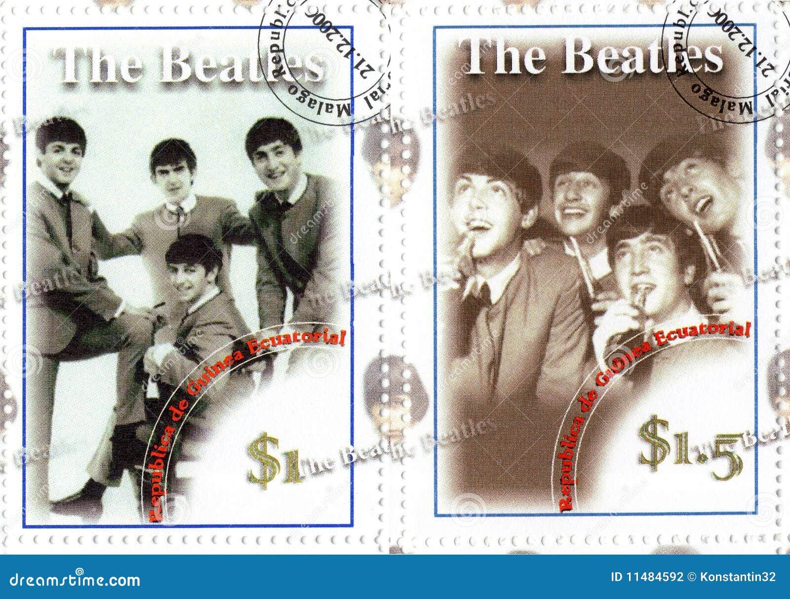 Berühmte Gruppe des Beatles