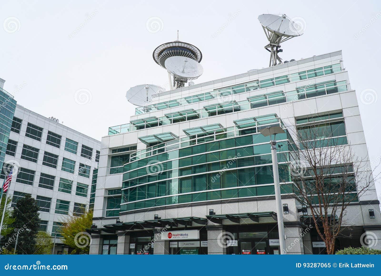 Berühmte Komo-Piazza In Seattle - Das Gebäude Von Grau-Anatomie ...