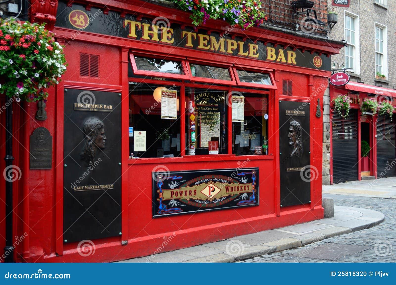Berühmter Tempel-Stab In Dublin Redaktionelles Bild - Bild von bügel ...