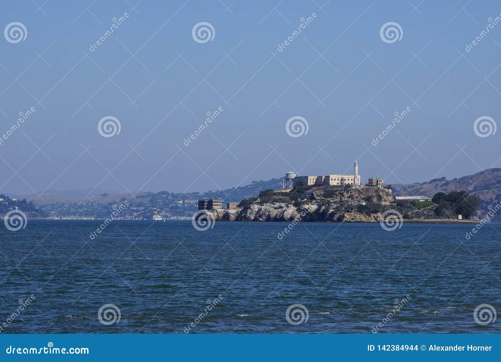 Berühmtes Gefängnisinsel alcatraz