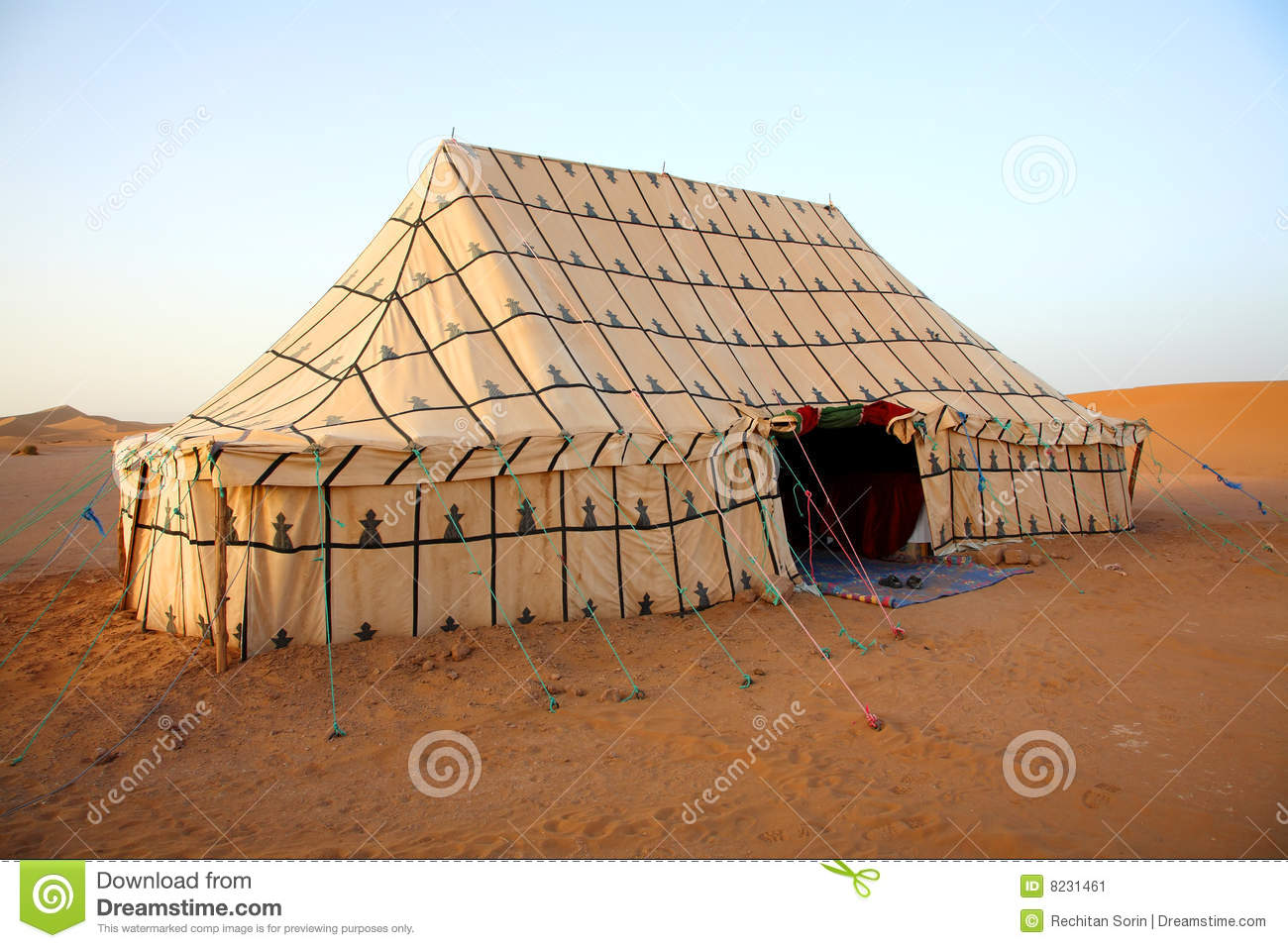 berber tent stock image image of vacation view africa 8231461