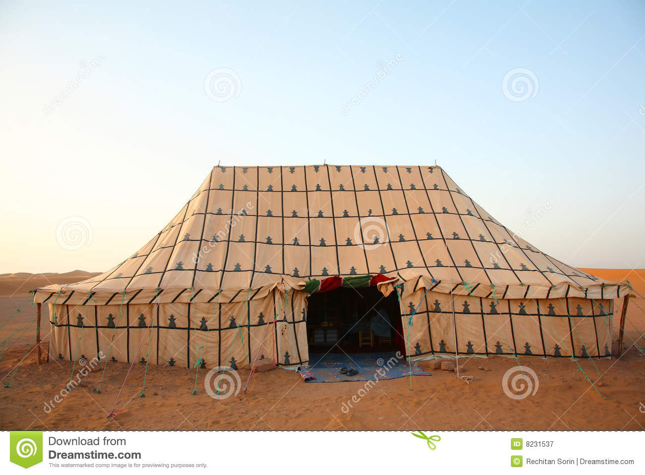 berber tent stock image image of ancient dryness sahara 8231537
