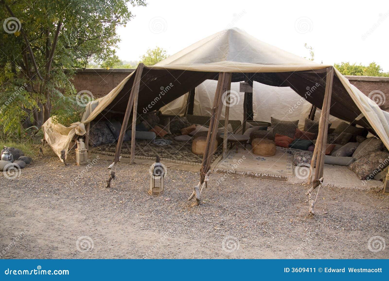 Berber tent in Morocco  sc 1 st  Dreamstime.com & Berber tent in Morocco stock image. Image of berber portable ...