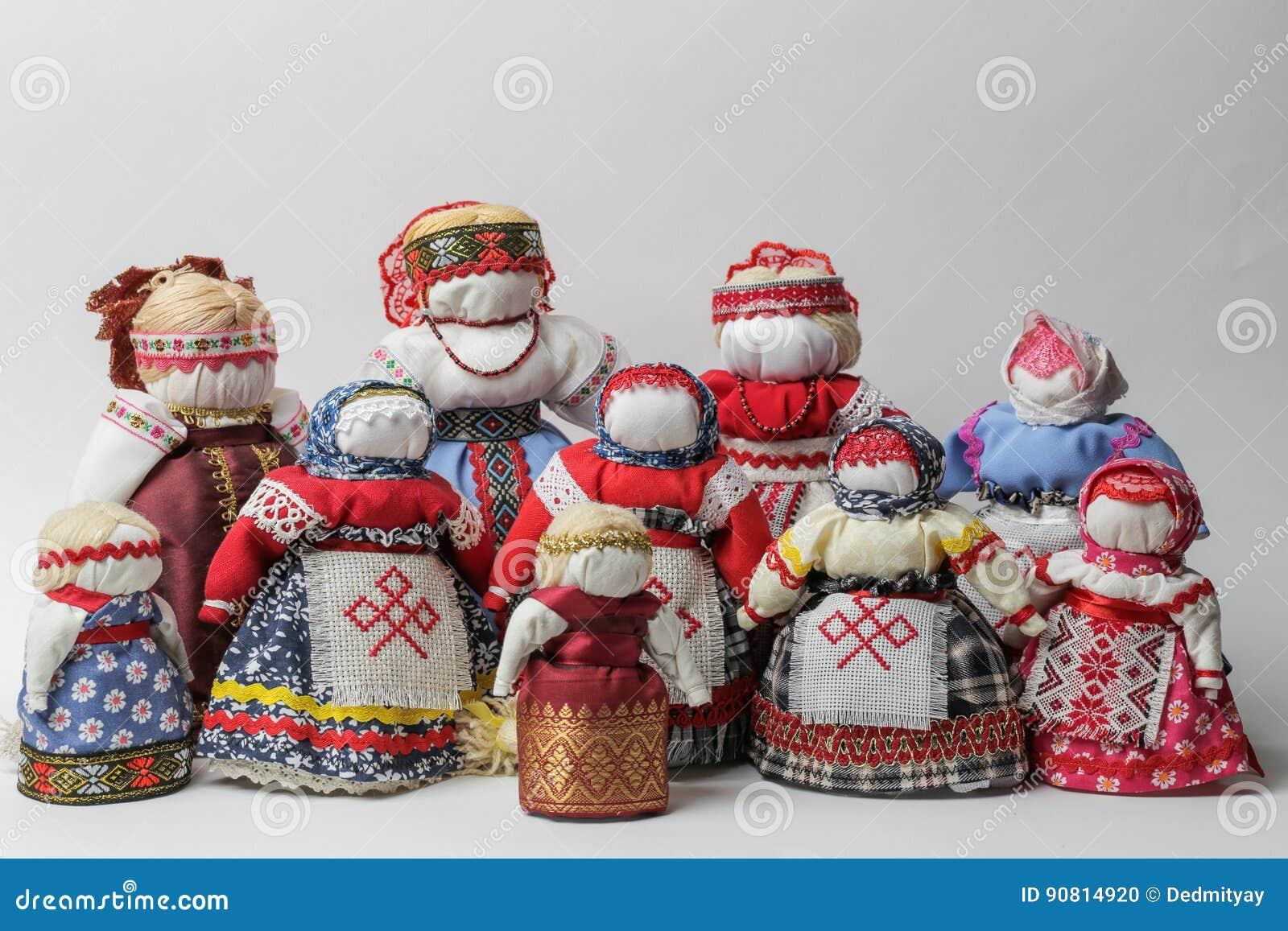 Bereginyapoppen - met de hand gemaakte poppen