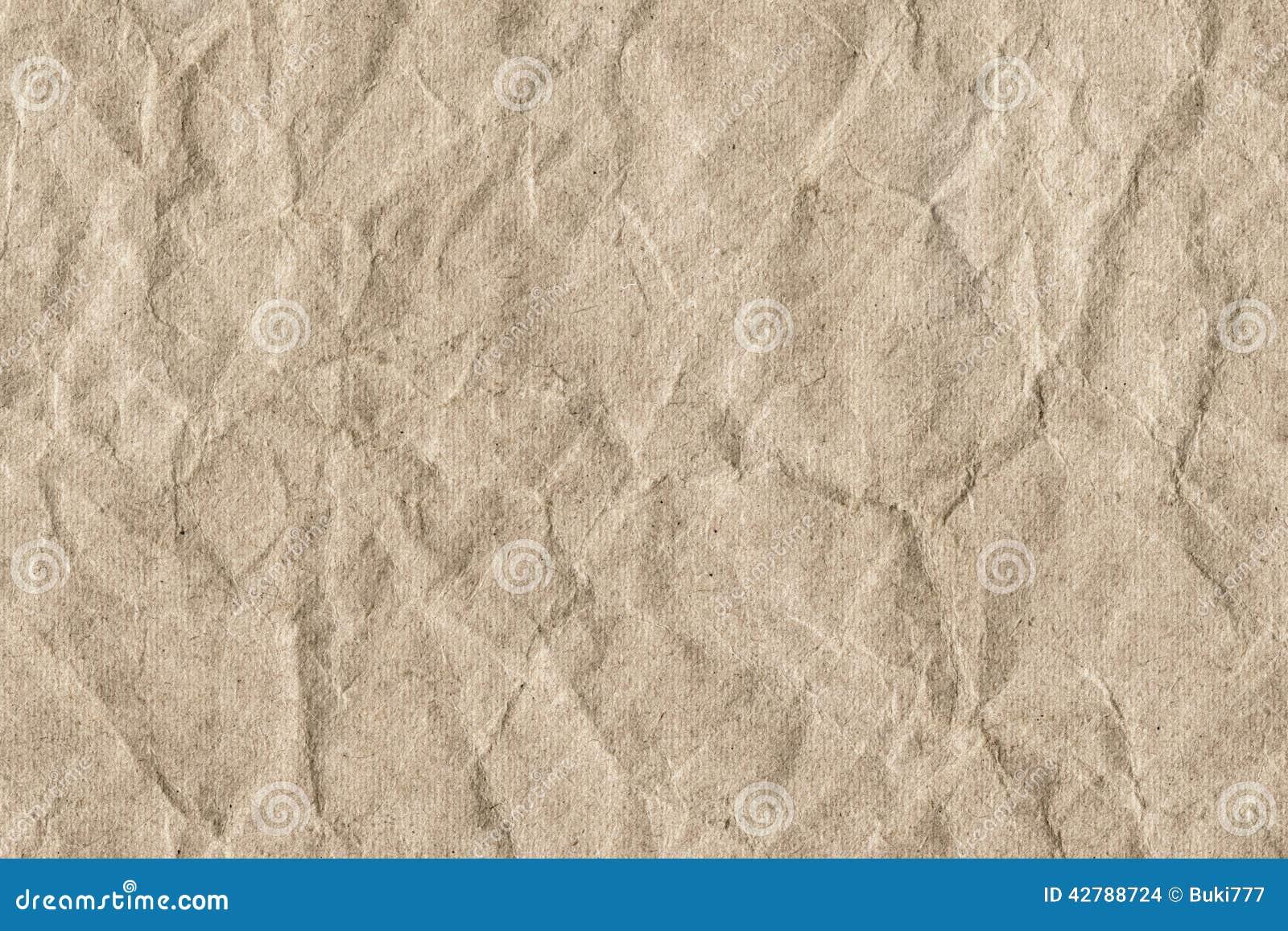 Bereiten Sie gestreifte Brown-Kraftpapier-Schmutz-Beschaffenheit - Detail auf