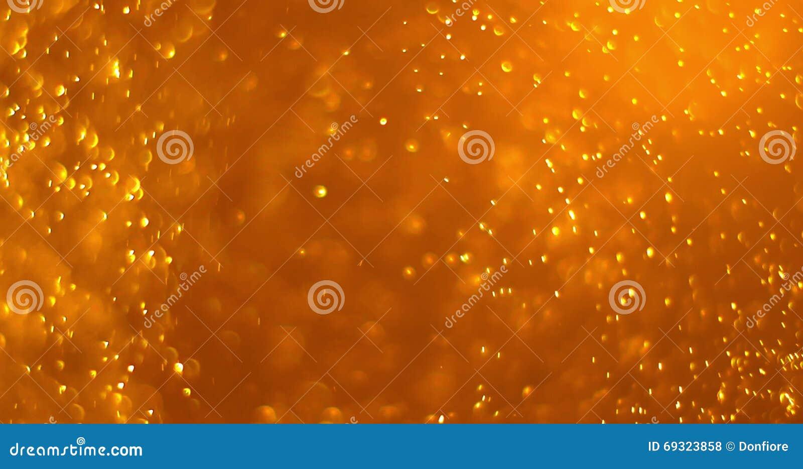 Bereites Der Goldstaubteilchenhintergrund-Schleife Nahtloses ...