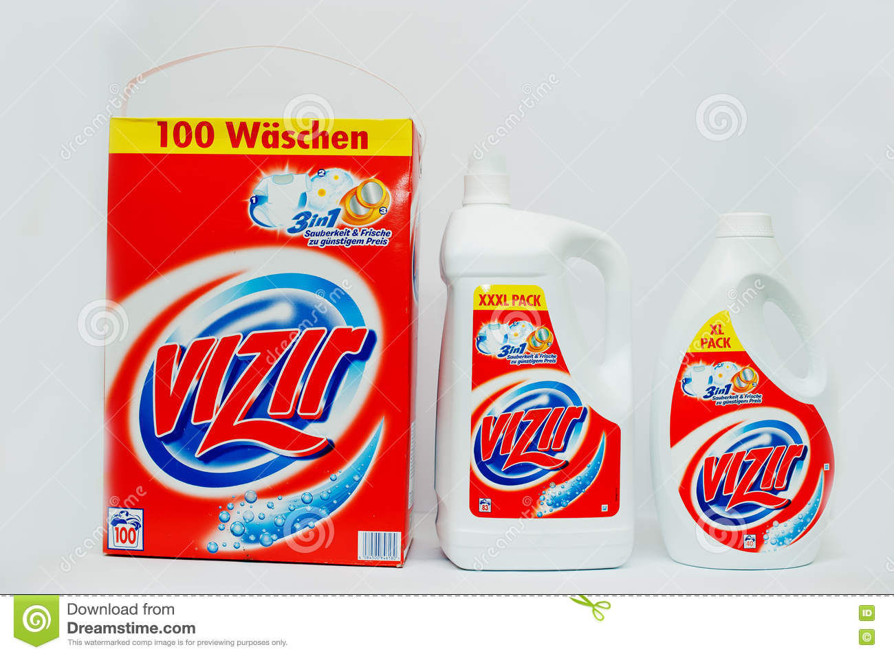 Top Washing Powder Or Laundry Detergent Brands Editorial ...