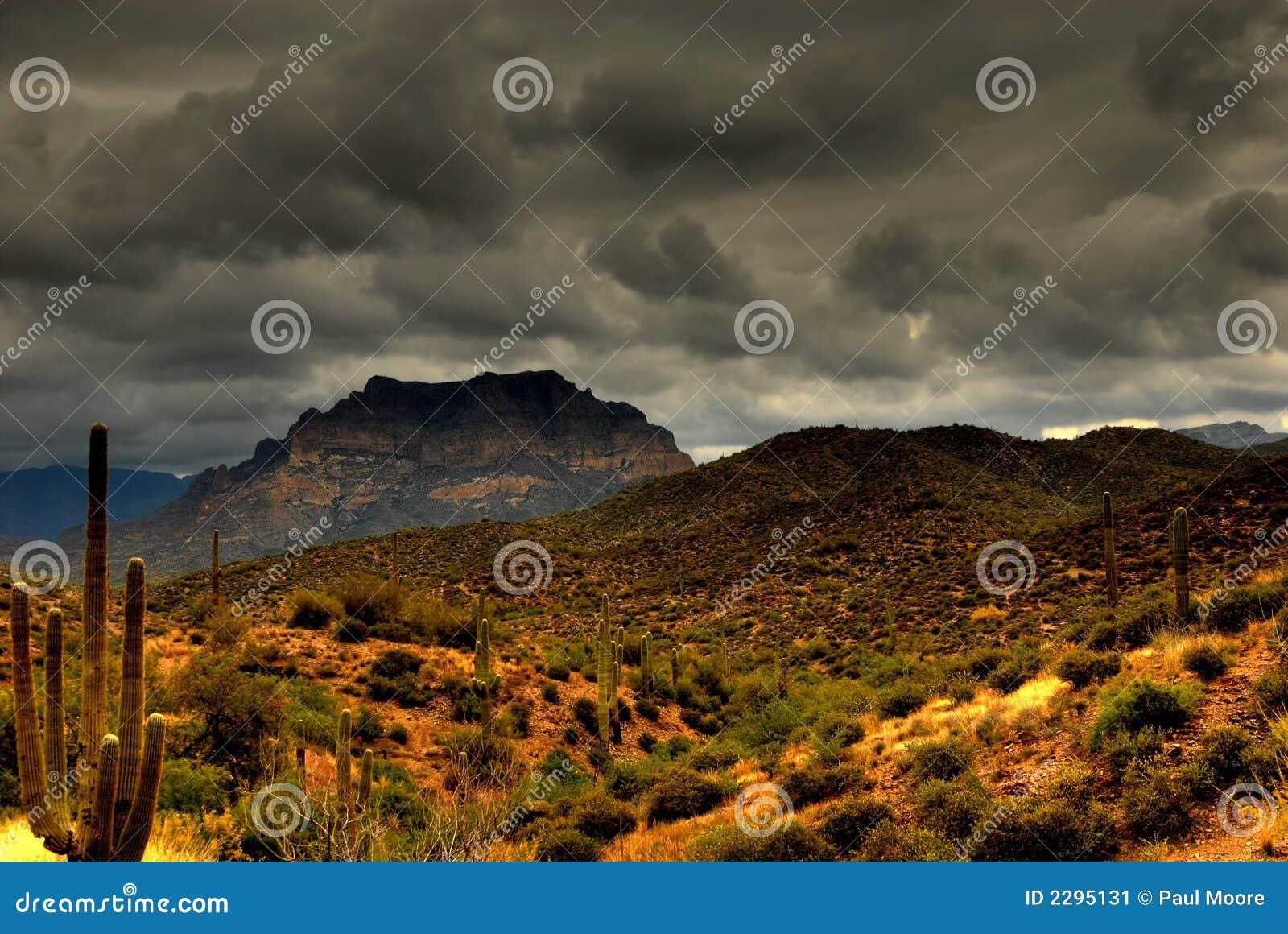 Berg 105 van de woestijn