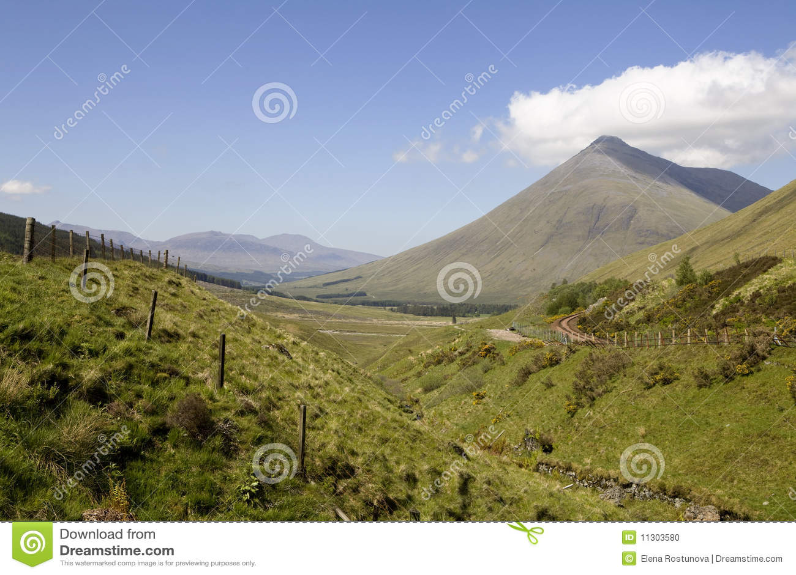 Berg Beinn Dorain, Schottland,