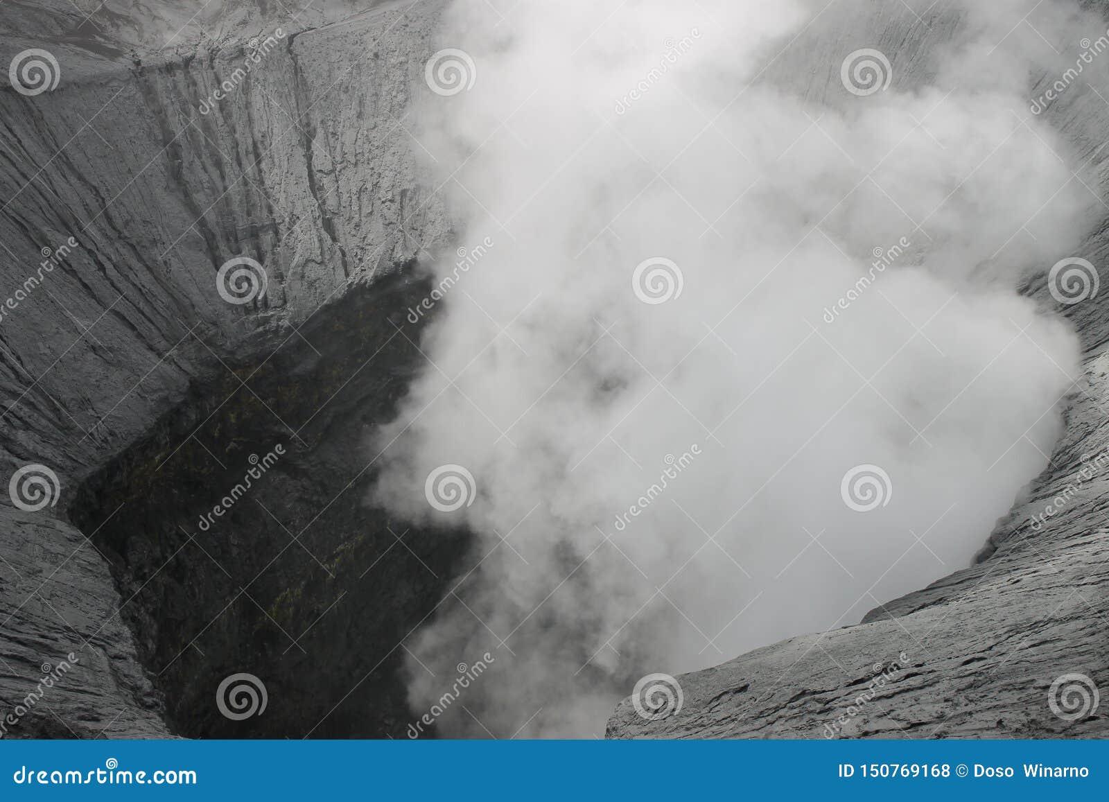 Berg Bromo-Krater wird von den oben genannten Touristenattraktionen gesehen, die von den Besuchern erreicht werden können
