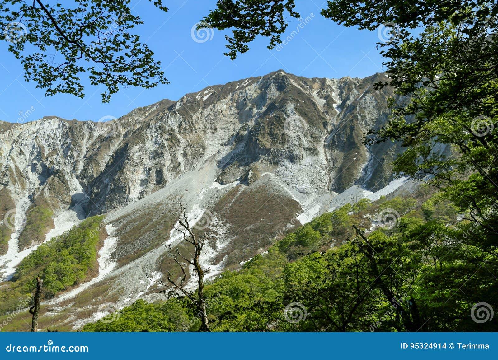 Berg Daisen in Tottori-Prefectuur, Japan