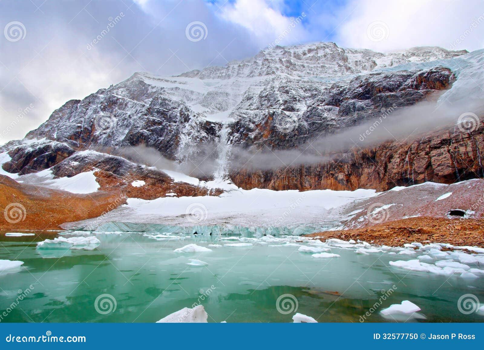 Berg Edith Cavell Jasper National Park