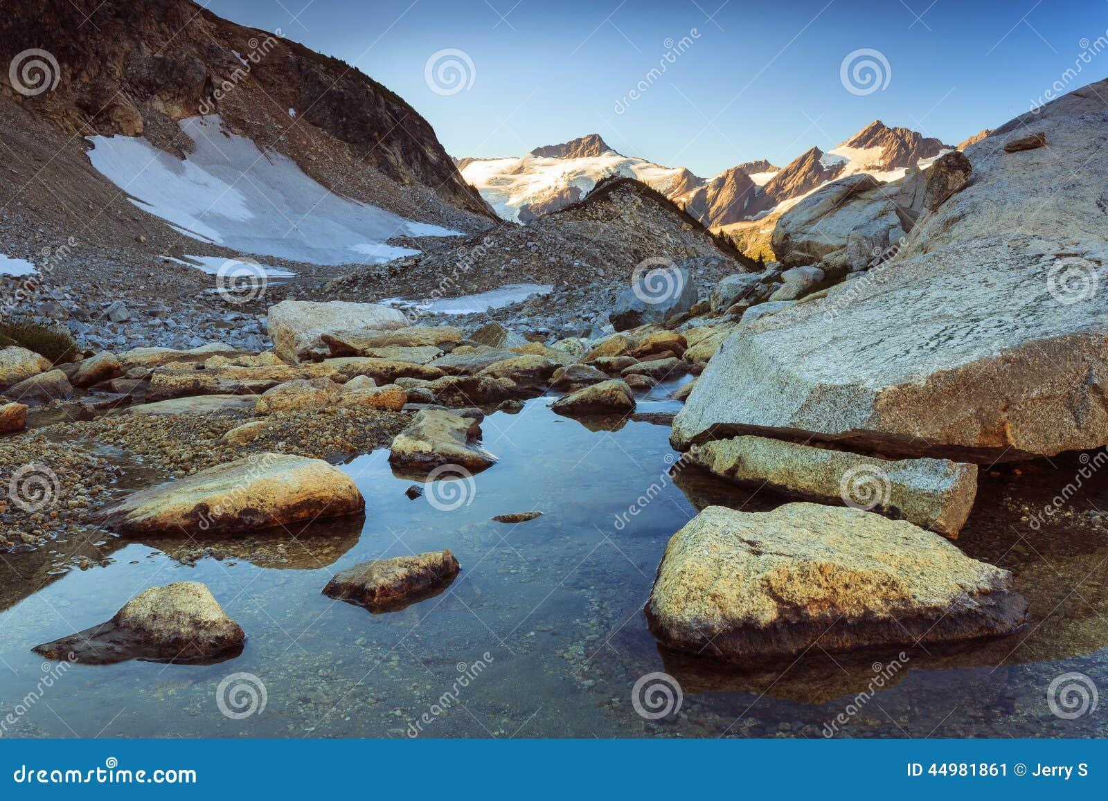 Berg en stroom