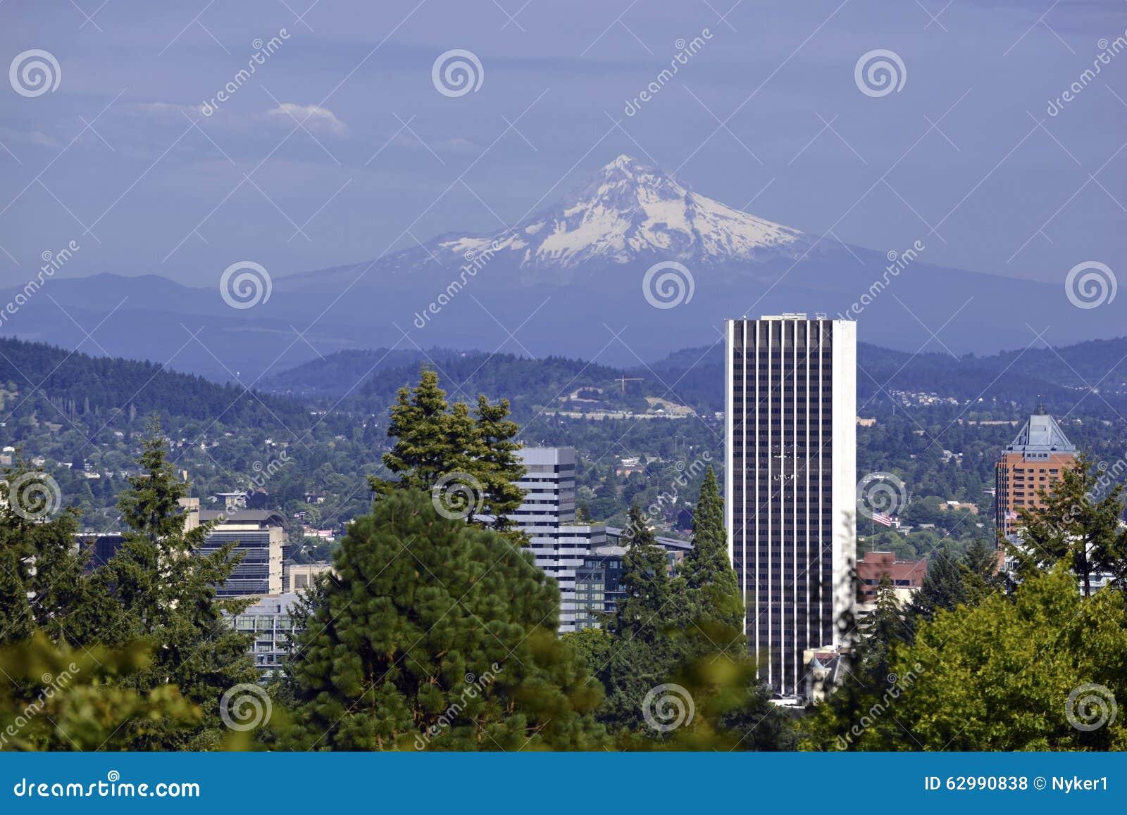 Berg-Haube in Portland, Oregon