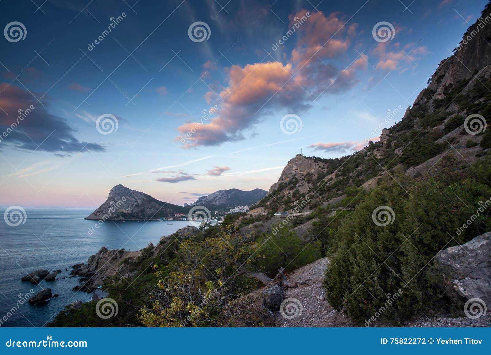 Berg khoba-Kaya, Noviy Svet, de Krim